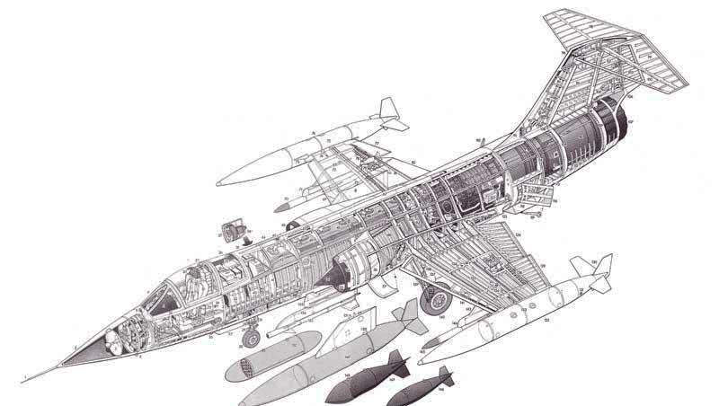 F 104 Starfighter Zarco Macross