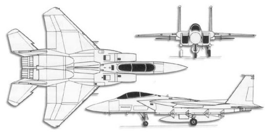 f 15 eagle diagram