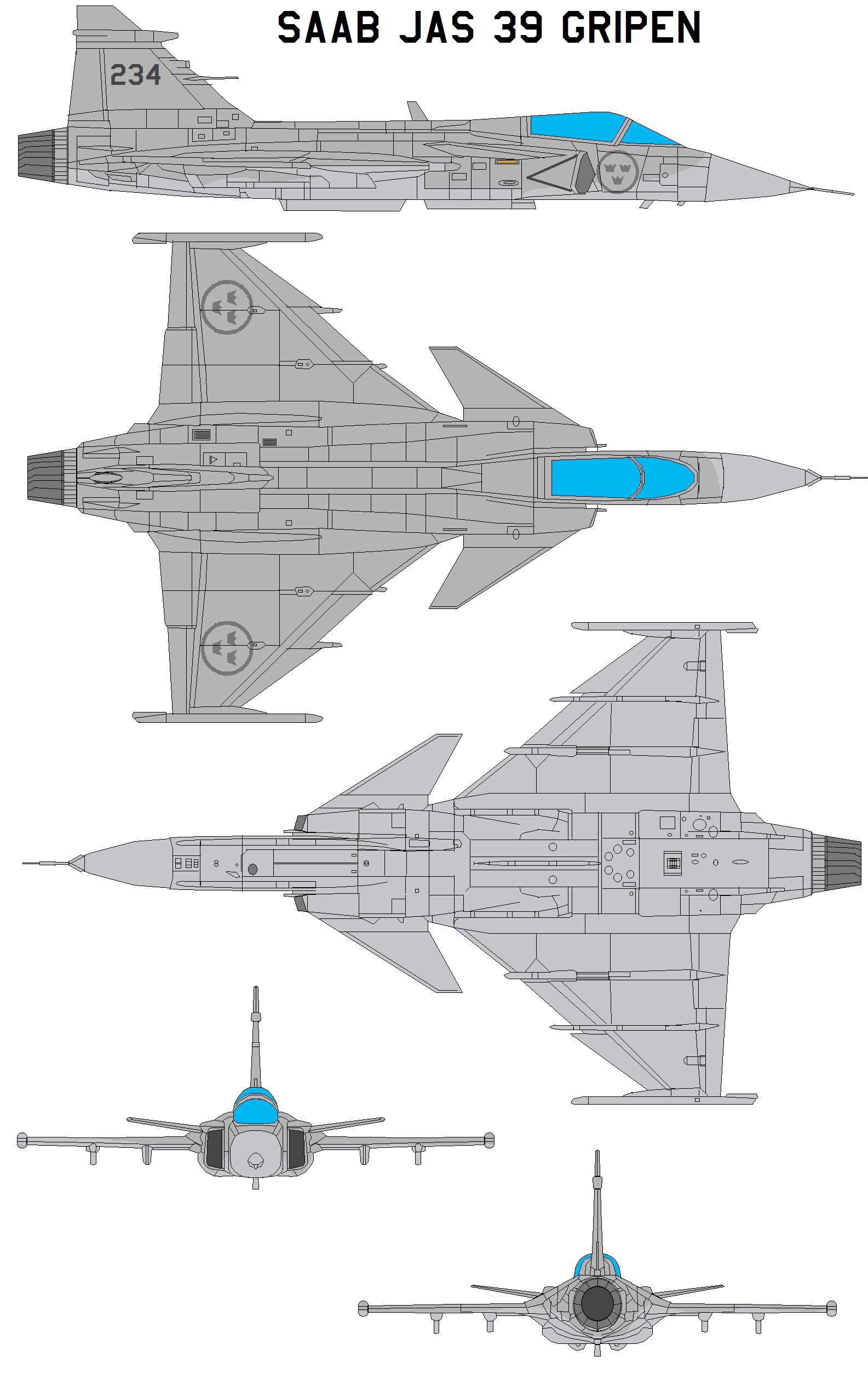Saab Jas 39 Gripen Zarco Macross