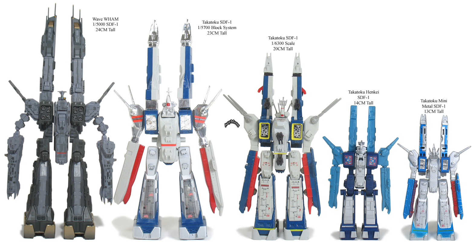 1/5000 W.H.A.M.! SDF-1 Macross (Transformable) by Wave   HobbyLink ...
